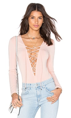 Deep Sea Bodysuit in Blush