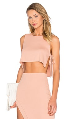 x REVOLVE Kisses Top en Beige