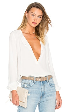 Lovers + Friends Heatwave Top in Ivory