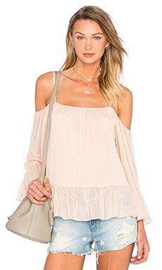 Lovers + Friends Maison Top in Papaya