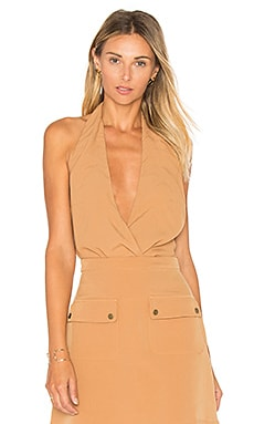 Lovers + Friends x REVOLVE Sienna Bodysuit in Camel