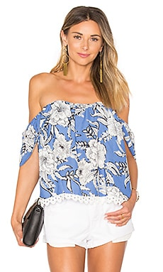 Life's A Beach Top in Riviera Floral