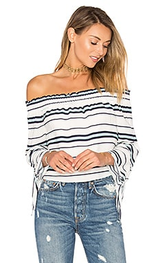 Dream Lover Top in Blue Stripe