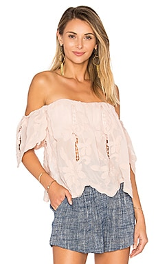 Life's A Beach Top en Nude