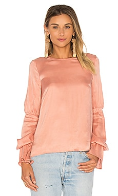 x REVOLVE Major Blouse in Rose