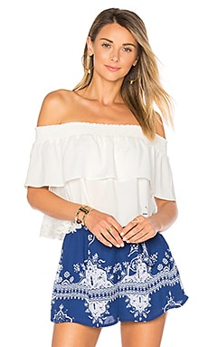 Angie Top in Ivory