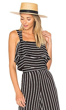 x REVOLVE Remi Crop Top in Stripe