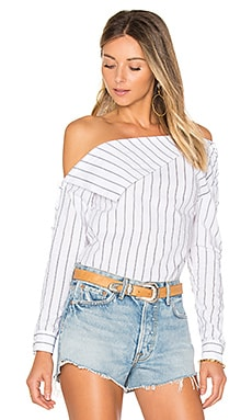 x REVOLVE Flip Top in Stripe