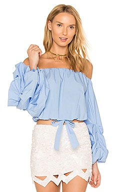 x REVOLVE Silas Top in Baby Blue