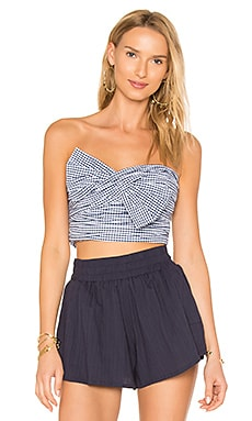 x REVOLVE Twist Turn Top