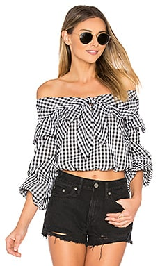 x REVOLVE Rebecca Top in Gingham