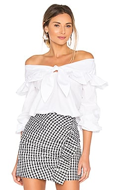 x REVOLVE Rebecca Top in White