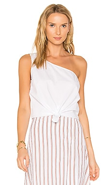 x REVOLVE Tie That Top en Blanc