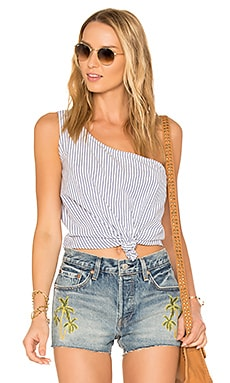x REVOLVE Tie That Top en Rayé