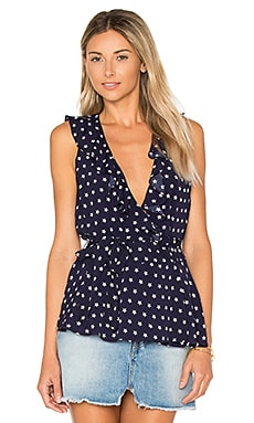 x REVOLVE Luna Tank Blouse in Glory Star Print