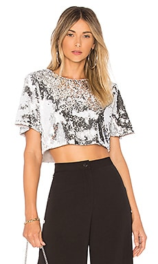 Raine Crop Top Lovers + Friends $148 BEST SELLER