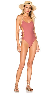Lovers + Friends Lindsay One Piece in Tonal Caramel