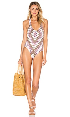 Lovers + Friends Rae One Piece in Kilim