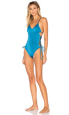 Blakely One Piece in Hennah