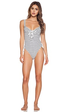 MAILLOT DE BAIN 1 PIÈCE STRIPE IT DOWN