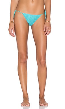 Lovers + Friends Annaba Bikini Bottom in Bluebird