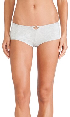 Love Haus by Beach Bunny Sequin Chevron Short in Heather Grey