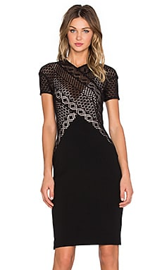 Linear Midi Dress