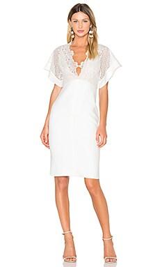 Camelia Bonded Midi Dress