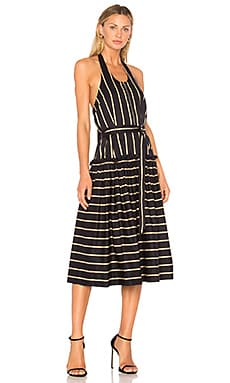 Frame Halter Midi Dress