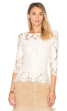 Arizona Top in Ivory