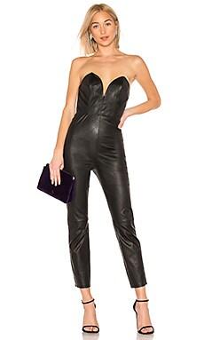 Uma Leather Jumpsuit LPA $518