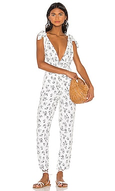 Shoulder Tie Jumpsuit LPA $105