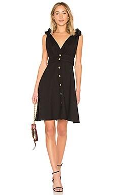 Купить Мини платье 701 - LPA черного цвета