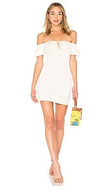 Smocked Mini Peasant Dress LPA $40 (FINAL SALE)