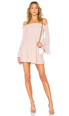 Smocked Mini Dress LPA $96