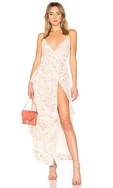 Купить Вечернее платье 253 - LPA белого цвета