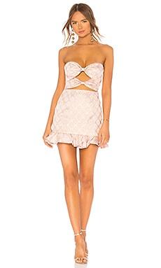 Double Knot Lace Up Dress LPA $178