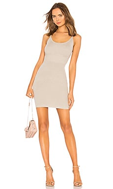 Fitted Knit Dress LPA $148 NEW ARRIVAL
