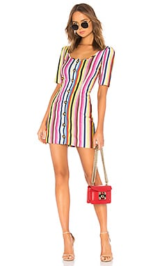 Button Up Mini Dress LPA $158 BEST SELLER