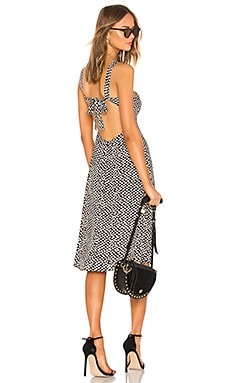 Square Neck Midi Dress LPA $198 Collections