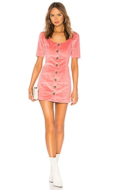 Corduroy Button Up Dress LPA $168