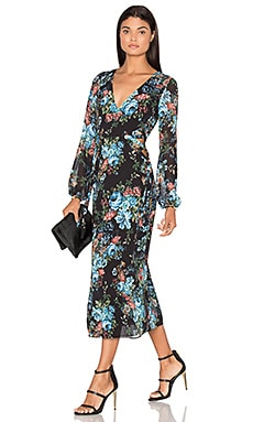 LPA Dress 10 in Antique Floral