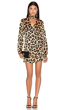 Dress 12 in Painted Leopard