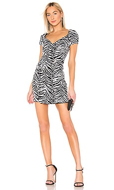Pinched Wrap Dress LPA $32 (FINAL SALE)