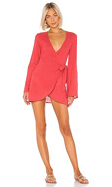 Daydream Wrap Dress LPA $148 BEST SELLER