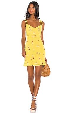 Multi Ruffle Mini Dress LPA $110
