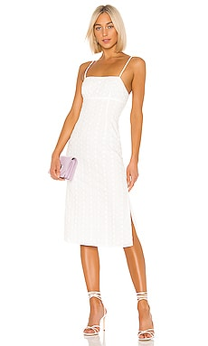 ROBE MI-LONGUE JANINA LPA $168 BEST SELLER