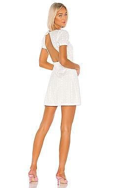Back Cutout Wrap Dress LPA $119