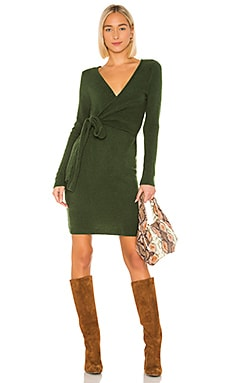 Sean Wrap Dress LPA $165 BEST SELLER