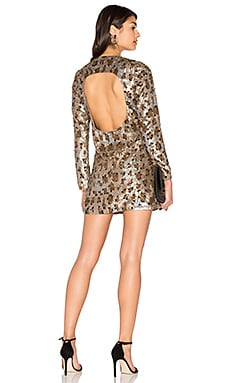 Dress 62 in Leopard Sequin